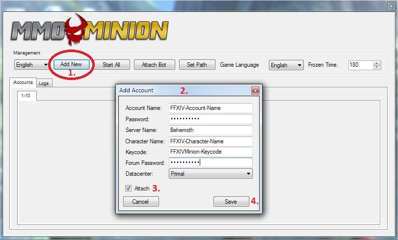 MMOMinion - FFXIVMinion - USER GUIDE - INSTRUCTIONS - READ THIS